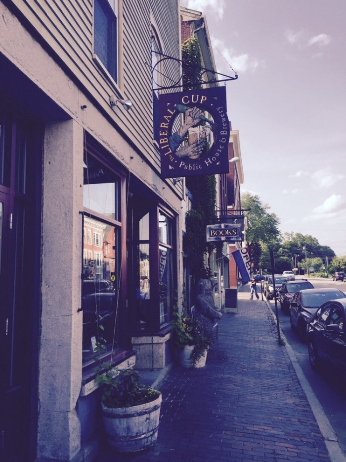 4. The Liberal Cup Public House & Brewery, Hallowell: 115 Water Street, 207-623-2739