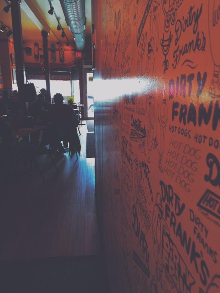6. Dirty Frank's Hotdog Palace (Columbus)