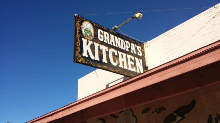 6. Grandpa's Kitchen, Kingman