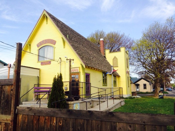 8. Yellow Church Cafe, Ellensburg
