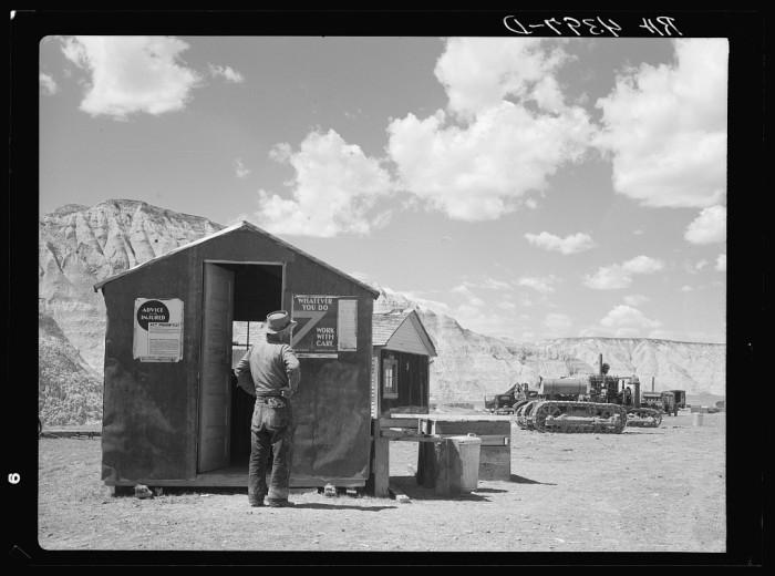 resettlement workcamp - - life in south dakota