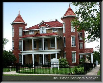 9. Belvidere Mansion, Claremore