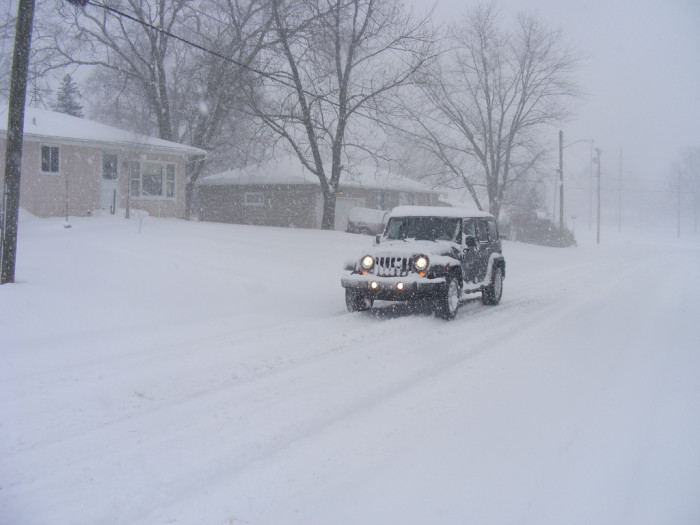 3. We really aren't that good at driving in the snow.