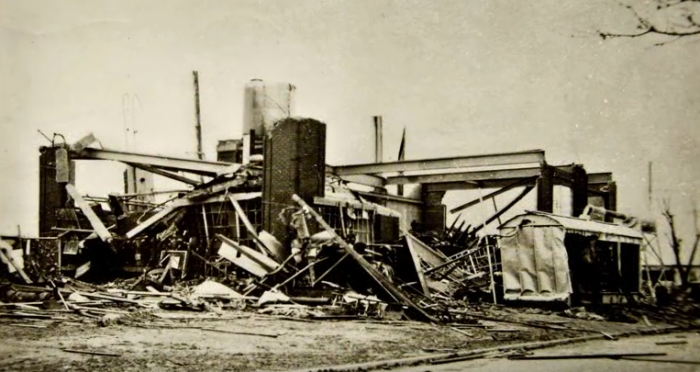 8. The OG&E Power Plant was unrecognizable.