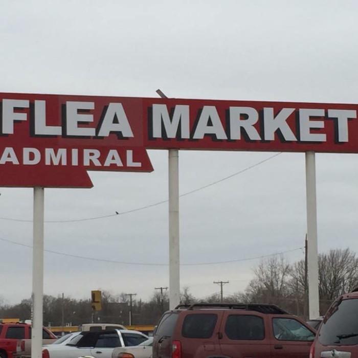 1. Admiral Flea Market: Tulsa