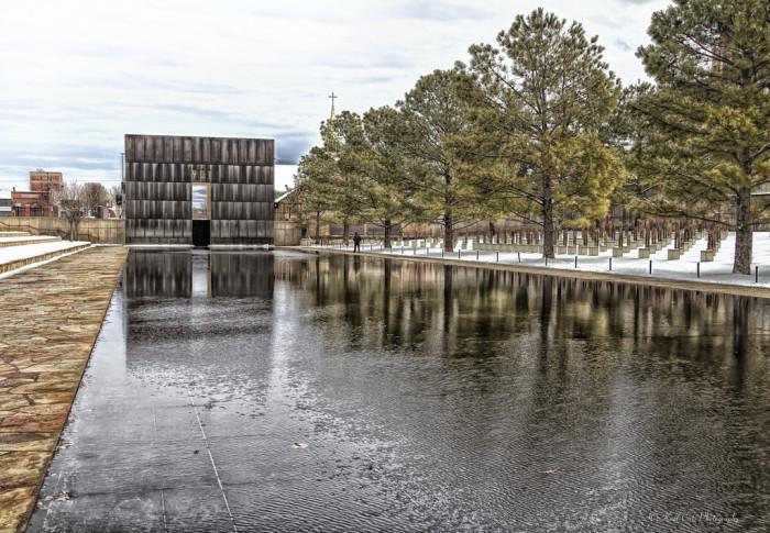 6. The Oklahoma City National Memorial
