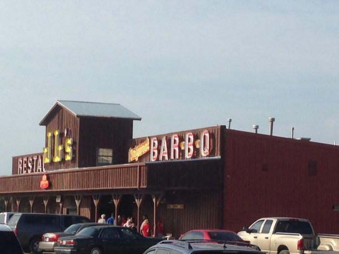 7. JL's Bar-B-Q
