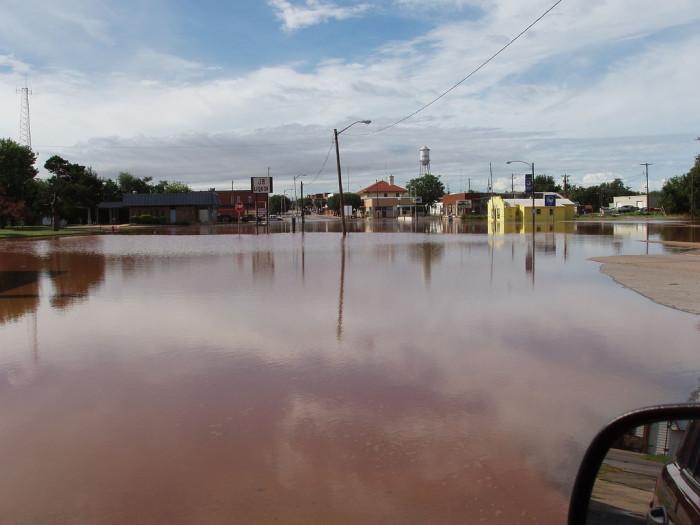 7. And massive floods.