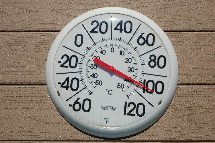 9. We survive sweltering hot summers.