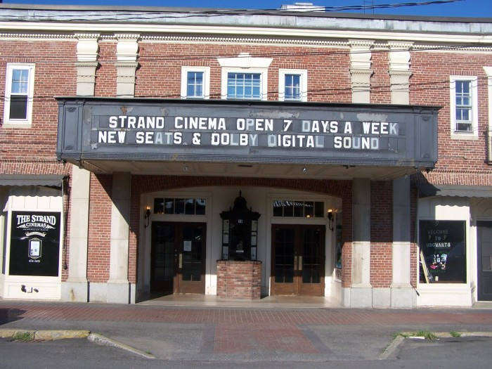 19. Maine: Strand Cinema