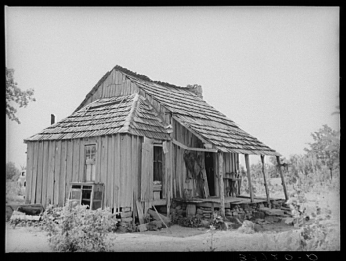 12. This home was located in Sallisaw and belonged to an Indian tenant farmer.