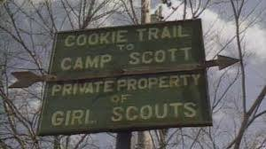 The Girl Scout Council owned the 410-acre tract of land known as Camp Scott. Since 1928, Camp Scott had provided adventures for young girls in a variety of recreational and educational activities.