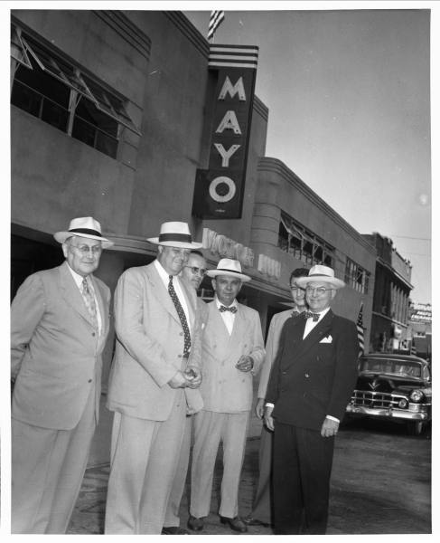11. Mayo Motor Inn in Tulsa, 1952. Photo courtesy of the Beryl Ford Collection.