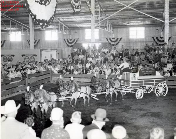 17. Horse show from the 1956 Oklahoma State Fair.