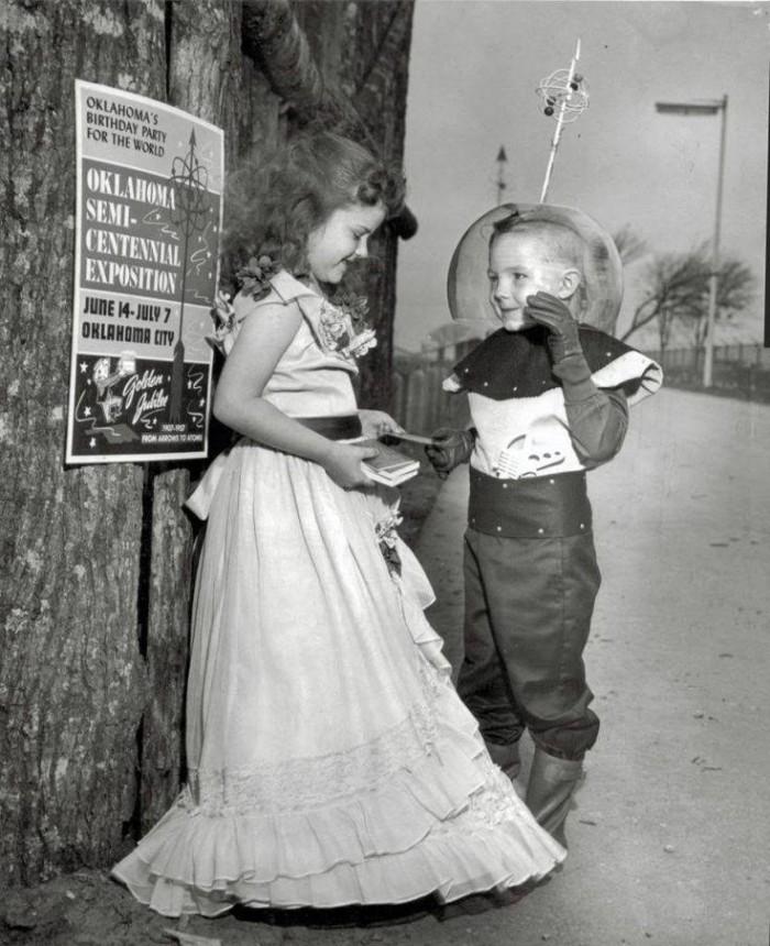 6. Oklahoma's Semi-Centennial Exposition, 1957.