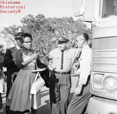 15. Educator and Civil Rights leader, Clara Luper, was born in Okfuskee County, OK.  In 1957, Luper became the advisor for the Oklahoma City NAACP Youth Council.