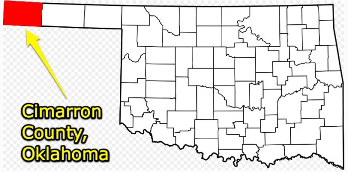 8. We have the only county in the nation that touches four states.