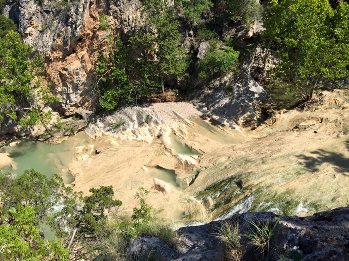 Explore the caves and the Rock Castle at Turner Falls.