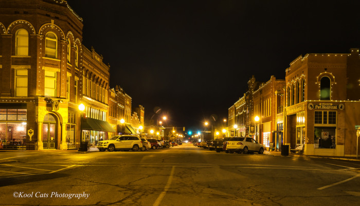 3. Guthrie is always beautiful, but at night it radiates.
