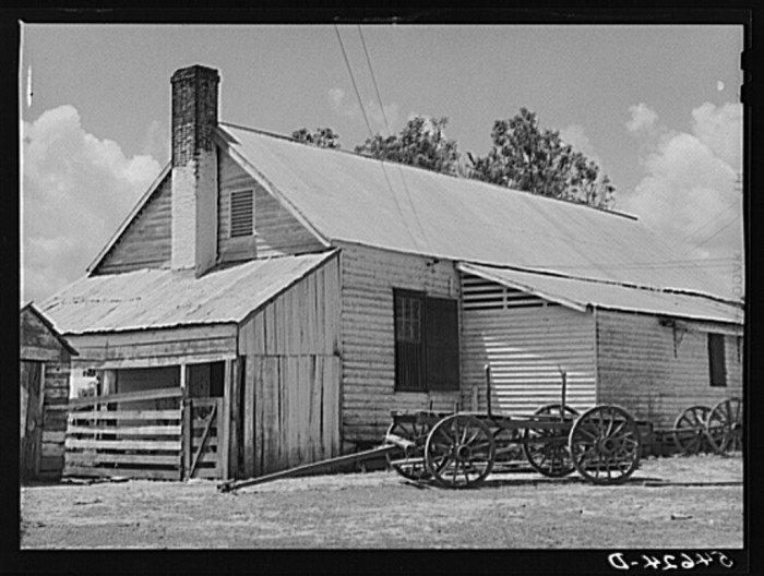 10. Old barn in Melrose, Natchitoches Parish, Louisiana