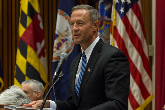 7) So are you rooting for Martin O'Malley?