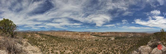 7. Pajarito Plateau, near Los Alamos