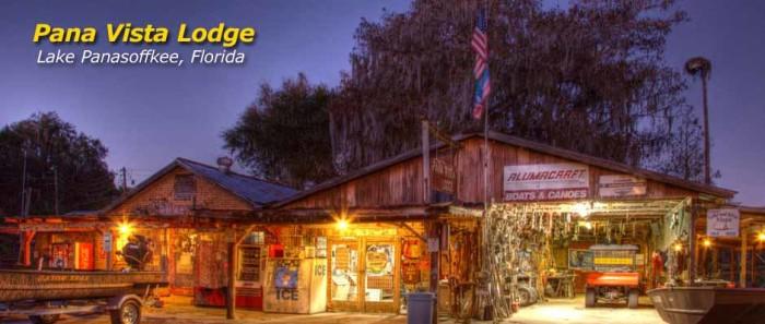 6. Pana Vista Lodge, Lake Panasoffkee