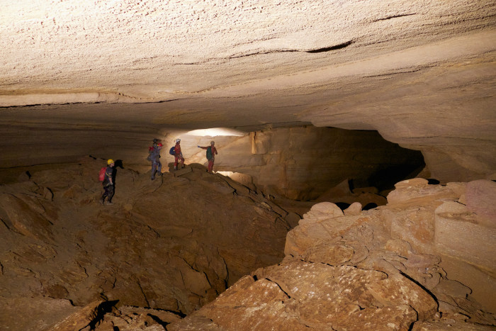 12. This is a cave in the German Valley in Pendleton County