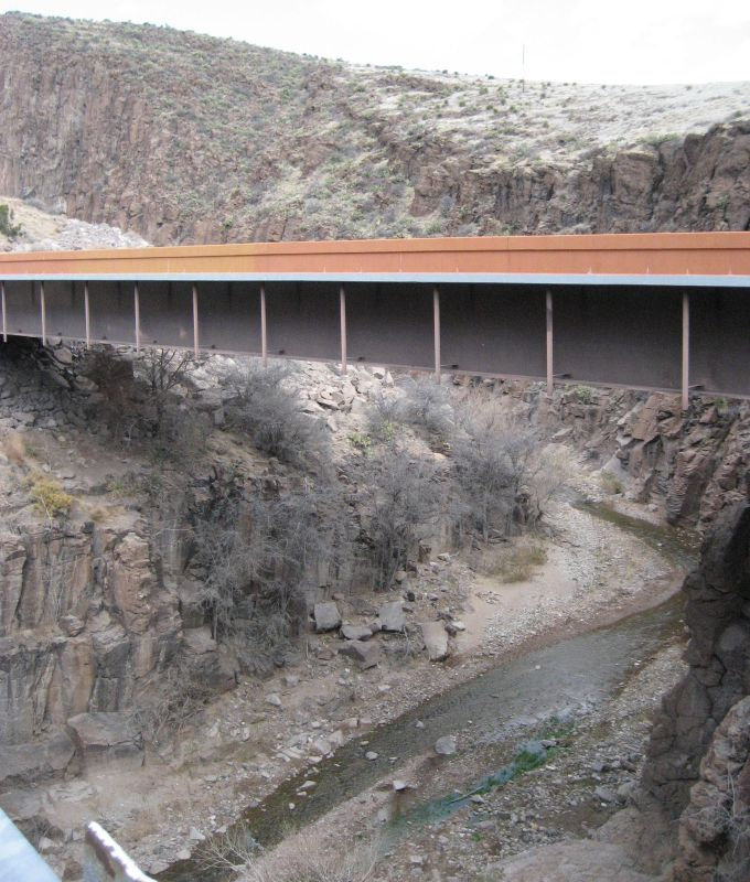 8. Percha Creek Bridge, near Hillsboro
