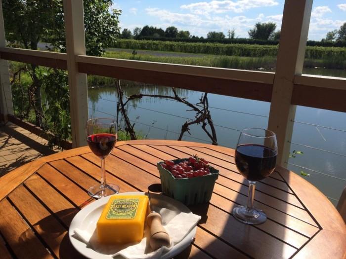 10.  Taste some wine at Lincoln Peak Vineyard in Middlebury.