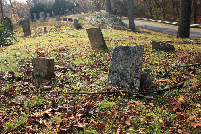 10. This is Prickett Fort Cemetery in Fairmont.