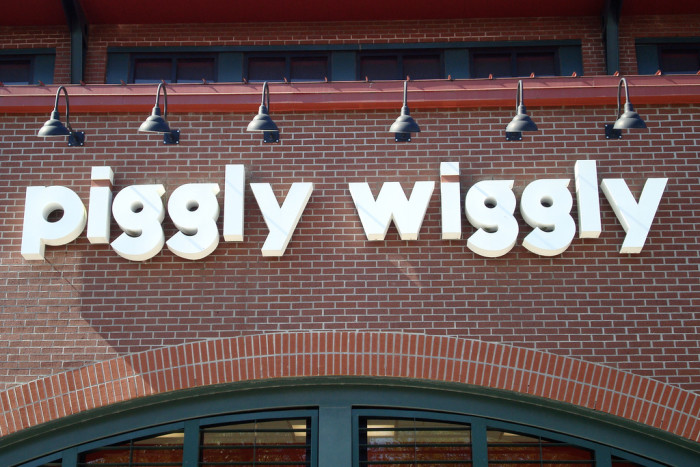 8. When you went to the Piggly Wiggly....