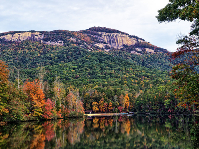 8. The property for this state park was donated by Pickens County and the City of Greenville in 1935. It's called....