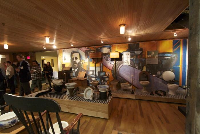 4. The Plumbing Museum, Watertown