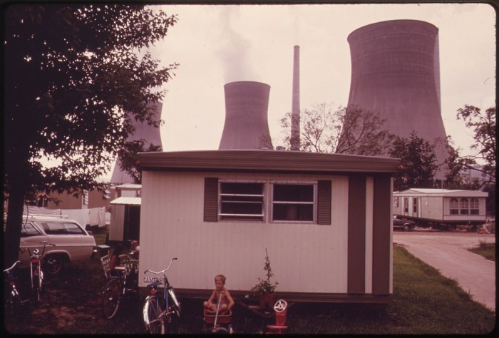 11. This was a trailer park in Poca, across the Kanawha River from the John Amos Power Plant.