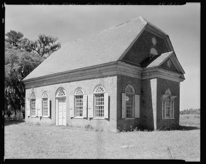 10. Pompion Hill Chapel, Berkeley County South Carolina. 1938.