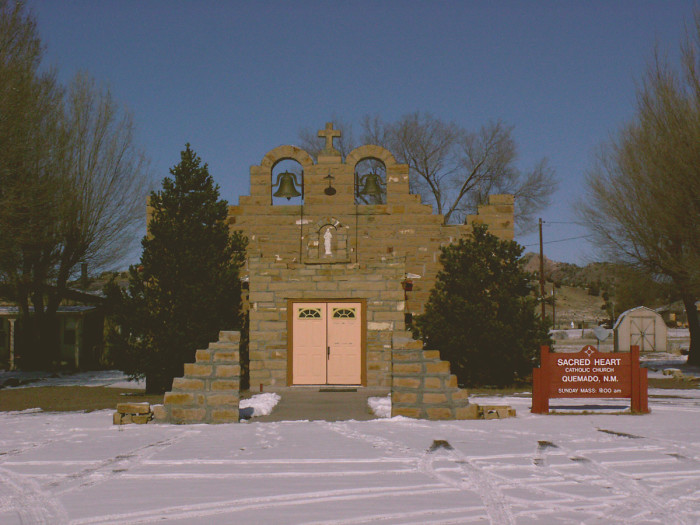 9. Sacred Heart Church, Quemado