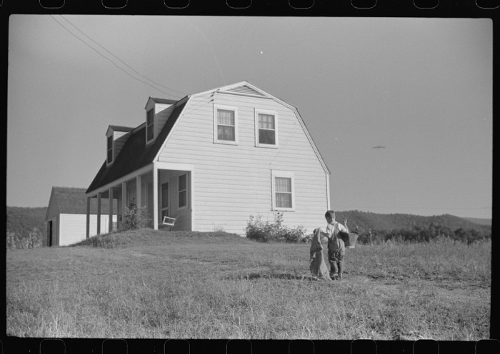 13. This was a home in Randolph County, 1938