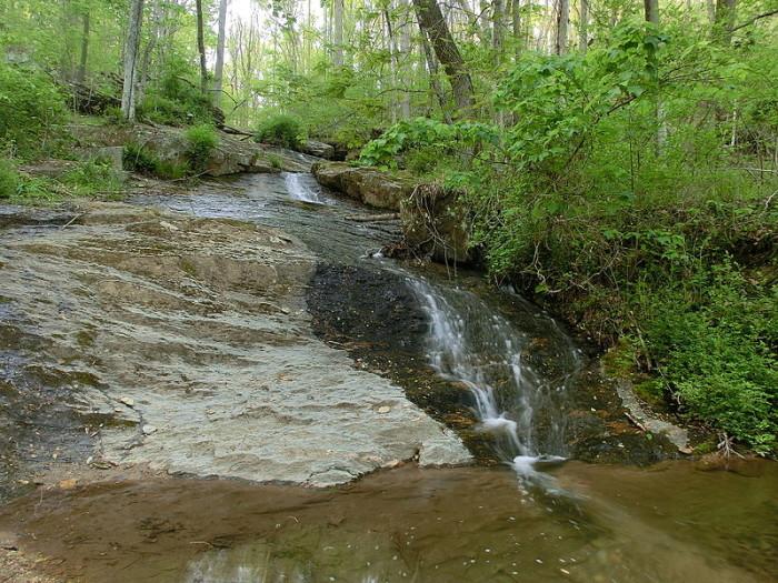 8) Raven Rock Falls, Baltimore County