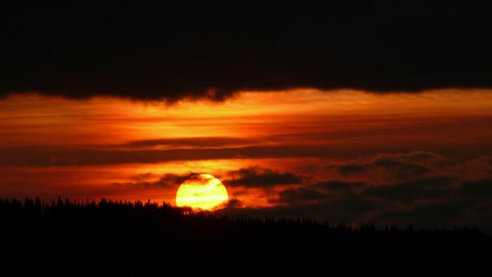 6. Red River sunrise