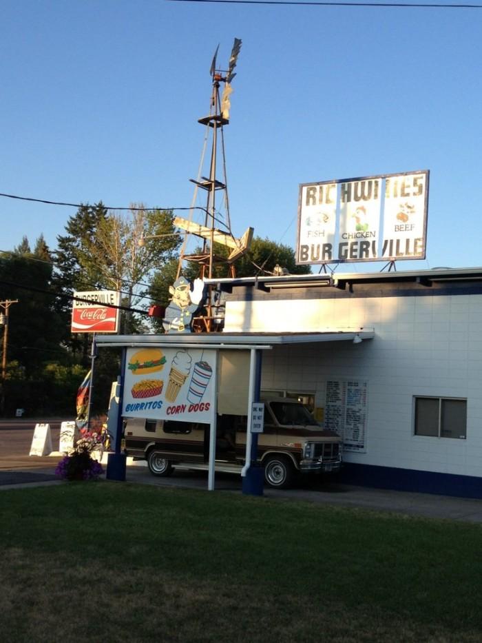 12.  Richwine's Burgerville, Polson