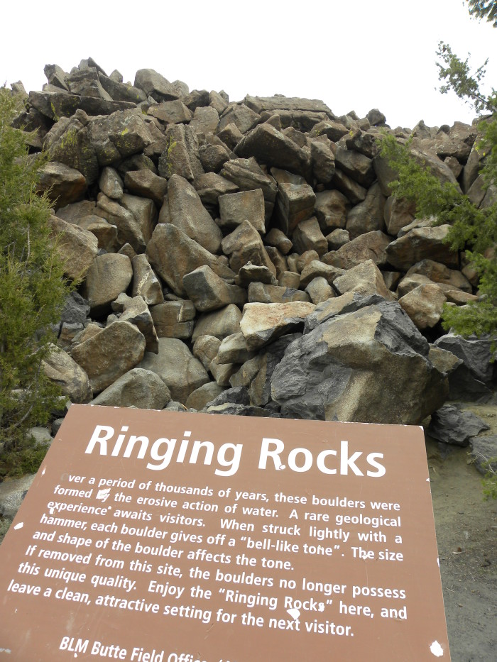 14. The Ringing Rocks, East of Butte