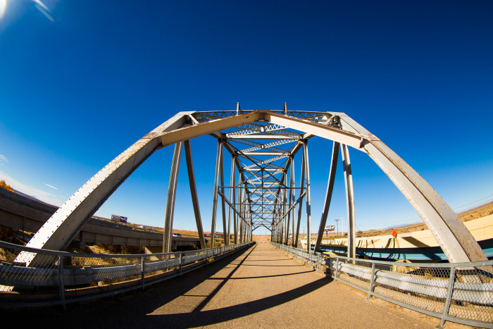 3. Rio Puerco Bridge, exit 140 off I-40