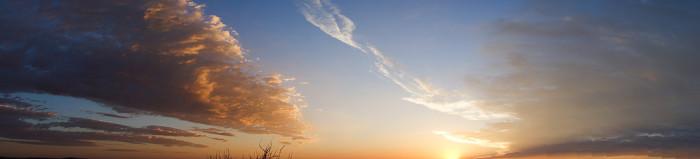12. Sunrise over Roswell