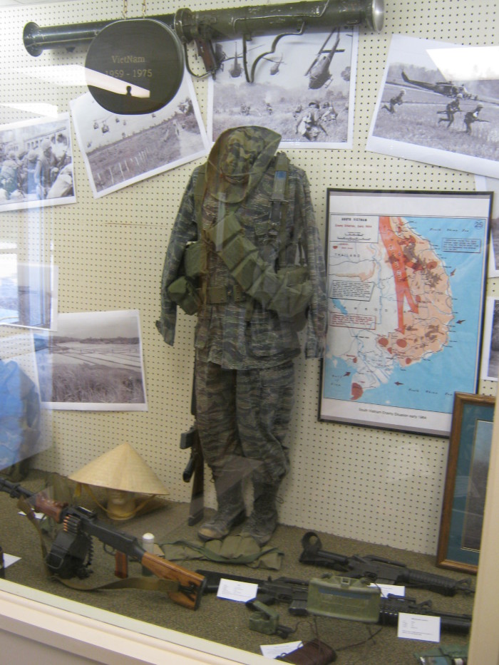 ...Or check out Sallows Military Museum in Alliance