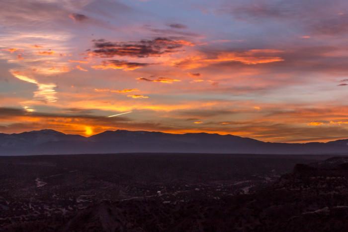 4. Sunrise over the Sangre de Cristo Mountains