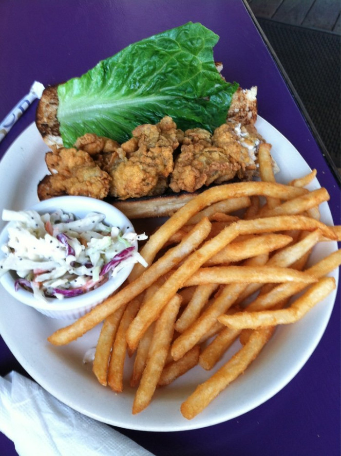 2. BEER BATTER FRIES - The Seacow Eatery - Edisto Beach, SC