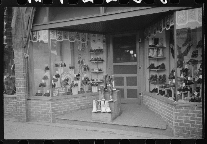 10. Shoe stores