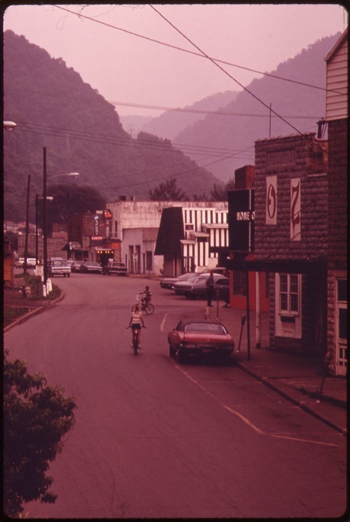 3. Smithers on a Summer evening in 1973.