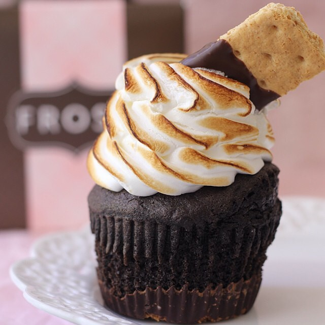 6. S'mores Cupcakes at Frost Bakery, Mill Creek
